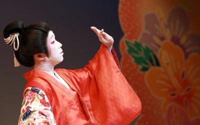 日本舞踊の基本シリーズ「見ること」