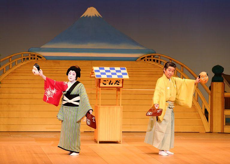 団子売り 麺の踊り 歌舞伎舞踊