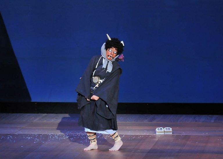 鬼の念仏 古典 日本舞踊の舞台