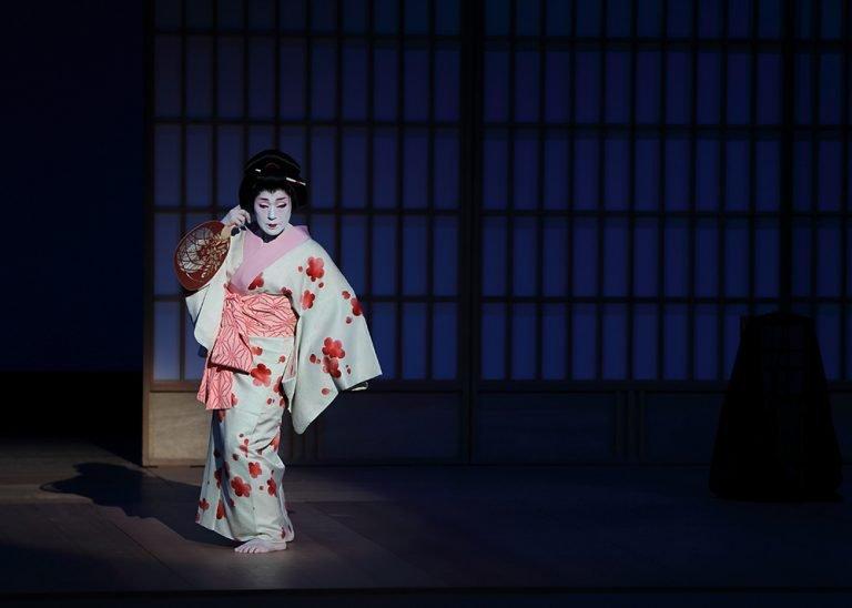 風の盆恋歌 新舞踊 日本舞踊の舞台