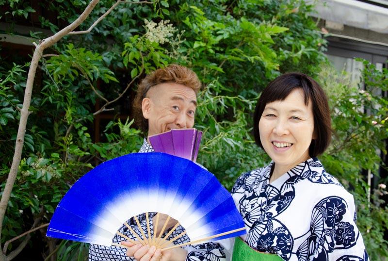 弟子の声:日本舞踊とマジックの楽しいコラボレーション