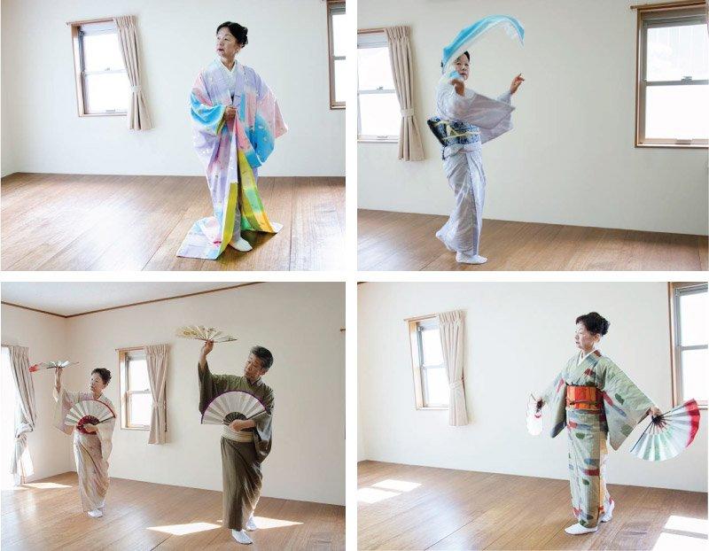 英御流 お稽古 日本舞踊