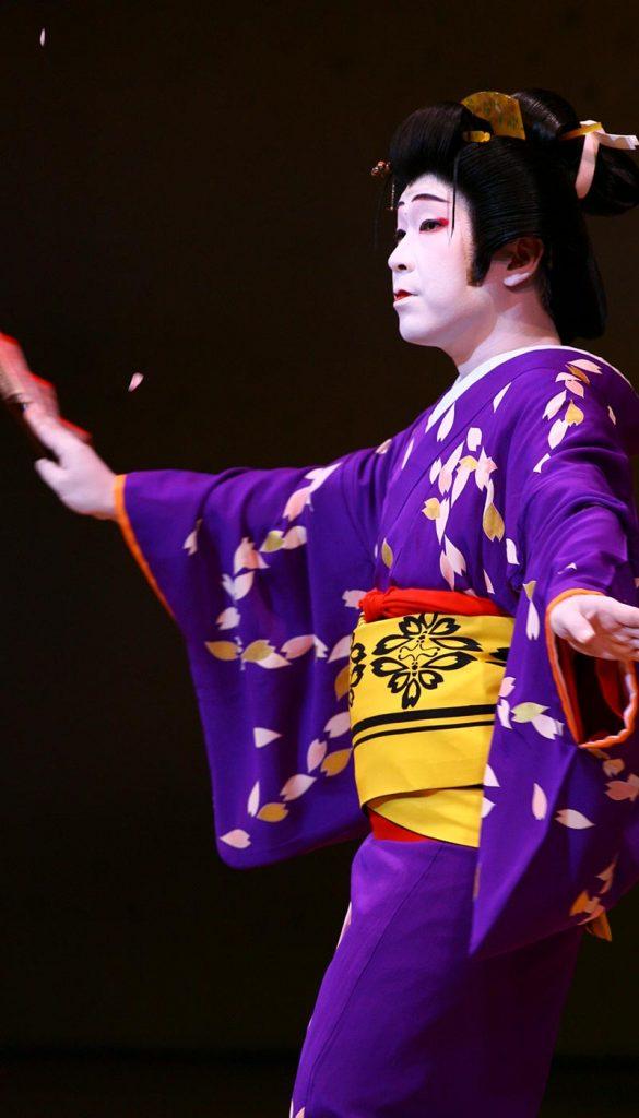英御流 家元 日本舞踊 女形