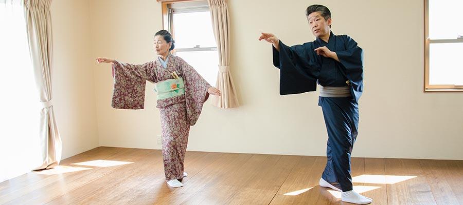 日本舞踊 振り付け 英御流