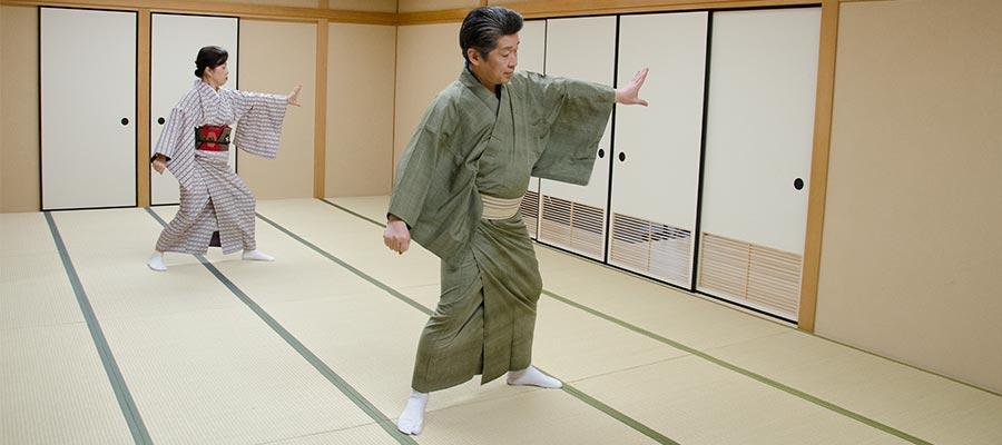 日本舞踊 お稽古 他流の方